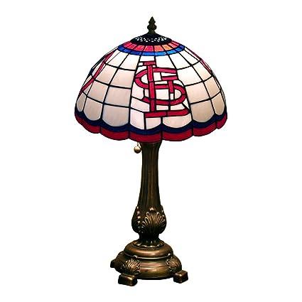 Captivating MLB St. Louis Cardinals Tiffany Table Lamp