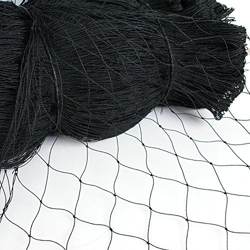 - ZENY 25' X 50' Net Netting for Bird Poultry Aviary Game Pens (25' X 50')