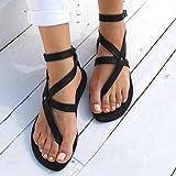 d5112cb12d201 Amazon.com: Sinwo Women's Leopard Print Flats Sandals Beach Shoes ...