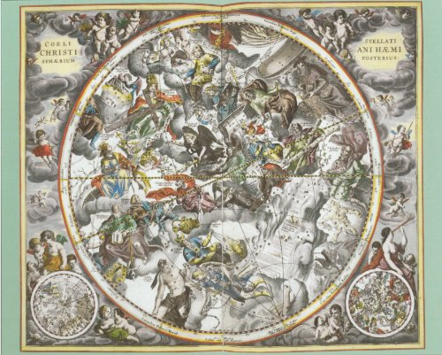(Andreas Cellarius Map of the Heavens 1000-piece Jigsaw Puzzle)