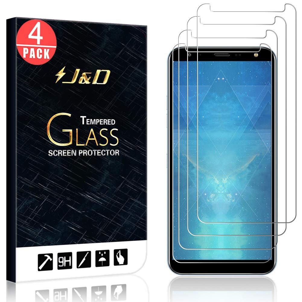 Vidrio Templado para LG K40 J-D [4 Unidades]