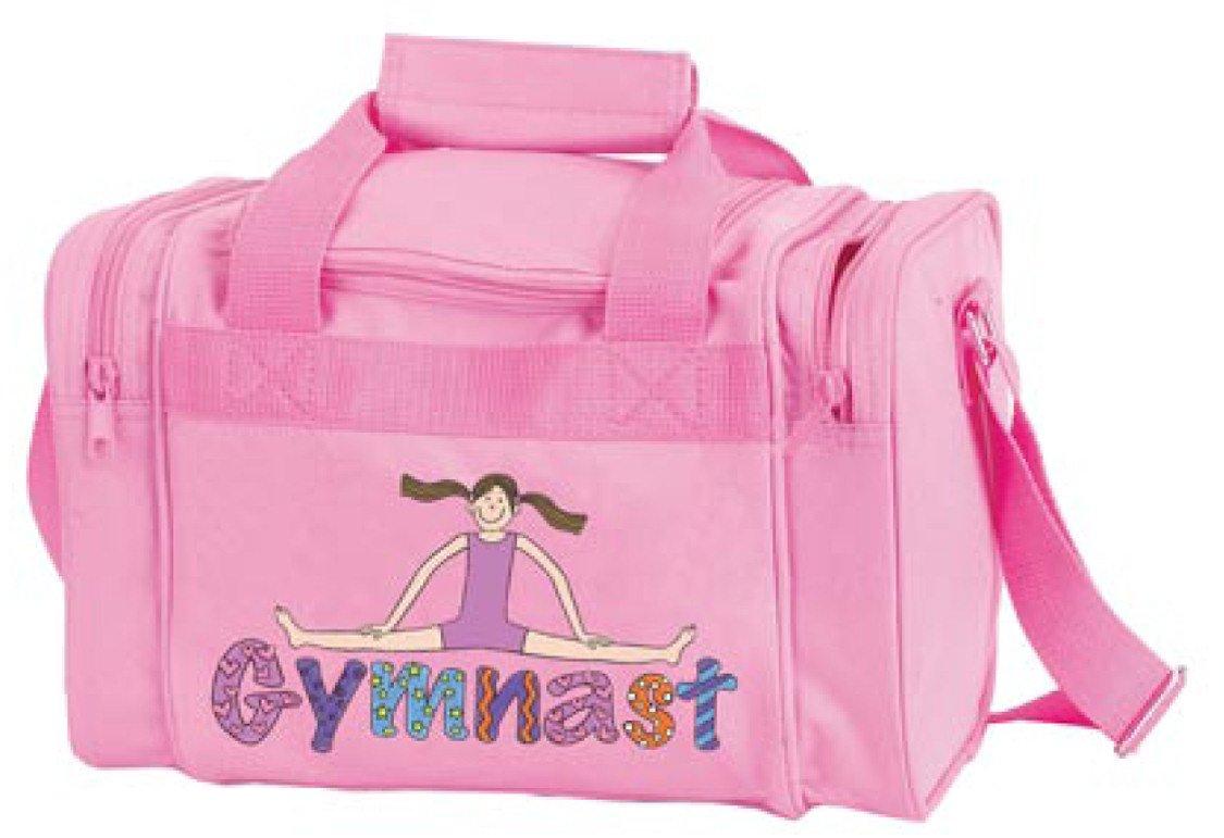 DansBagz by Danshuz Geena Gymnast Duffel Bag O/S PINK by DansBagz by Danshuz (Image #1)