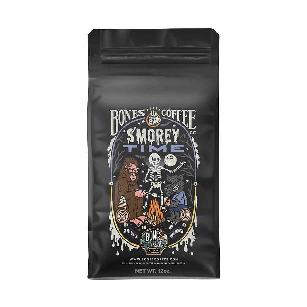 Bones Coffee Company S'morey Time Coffee - (Whole Bean Coffee)