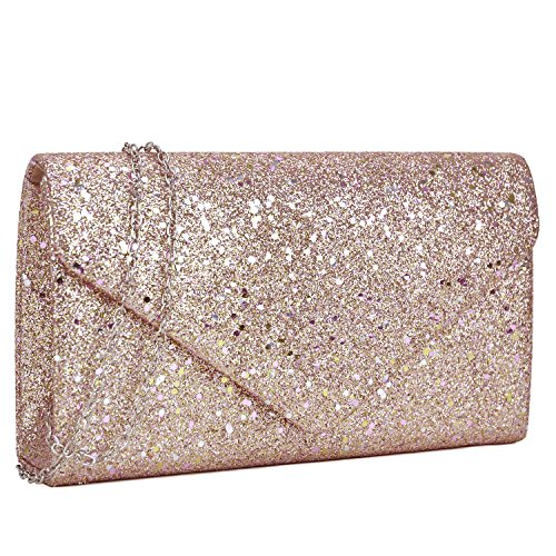 Women Glistening Evening Clutch Bags Formal Party Clutches Wedding Purses Cocktail Prom Clutches by Dasein