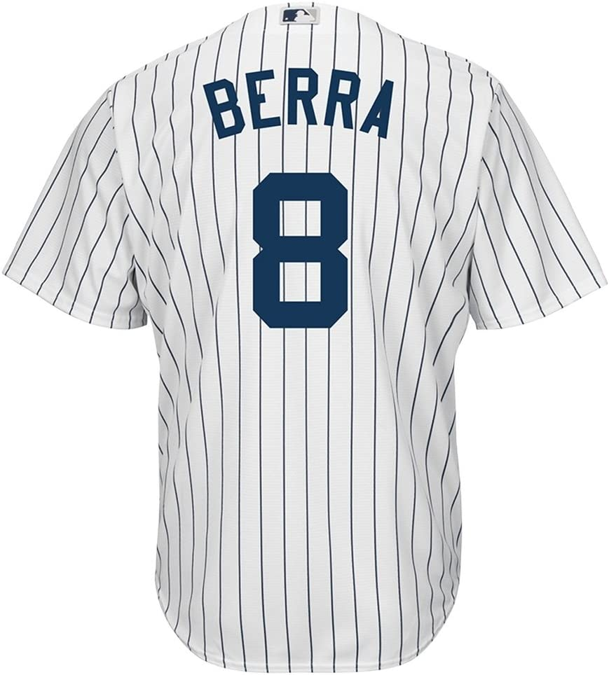 Majestic Yogi Berra New York Yankees Cool Base MLB Camiseta Home