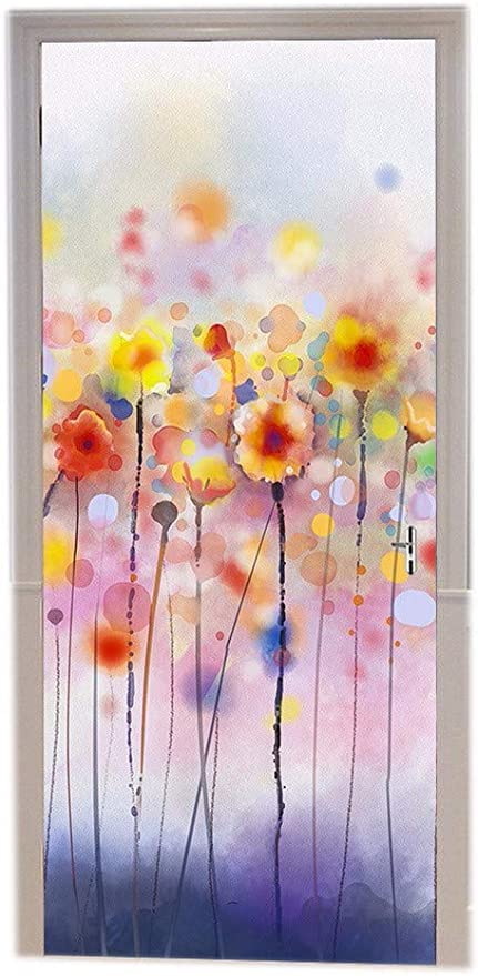 Türtapete Blumenfee Tapete Kunstdruck Türbild M0576