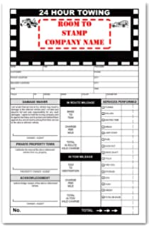 Amazoncom Road Service Towing Invoice Form Office Products - Free towing invoice template online yarn stores