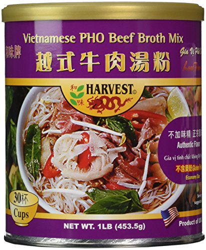 PHO Beef Broth Mix (Gluten Free) by Harvest2000
