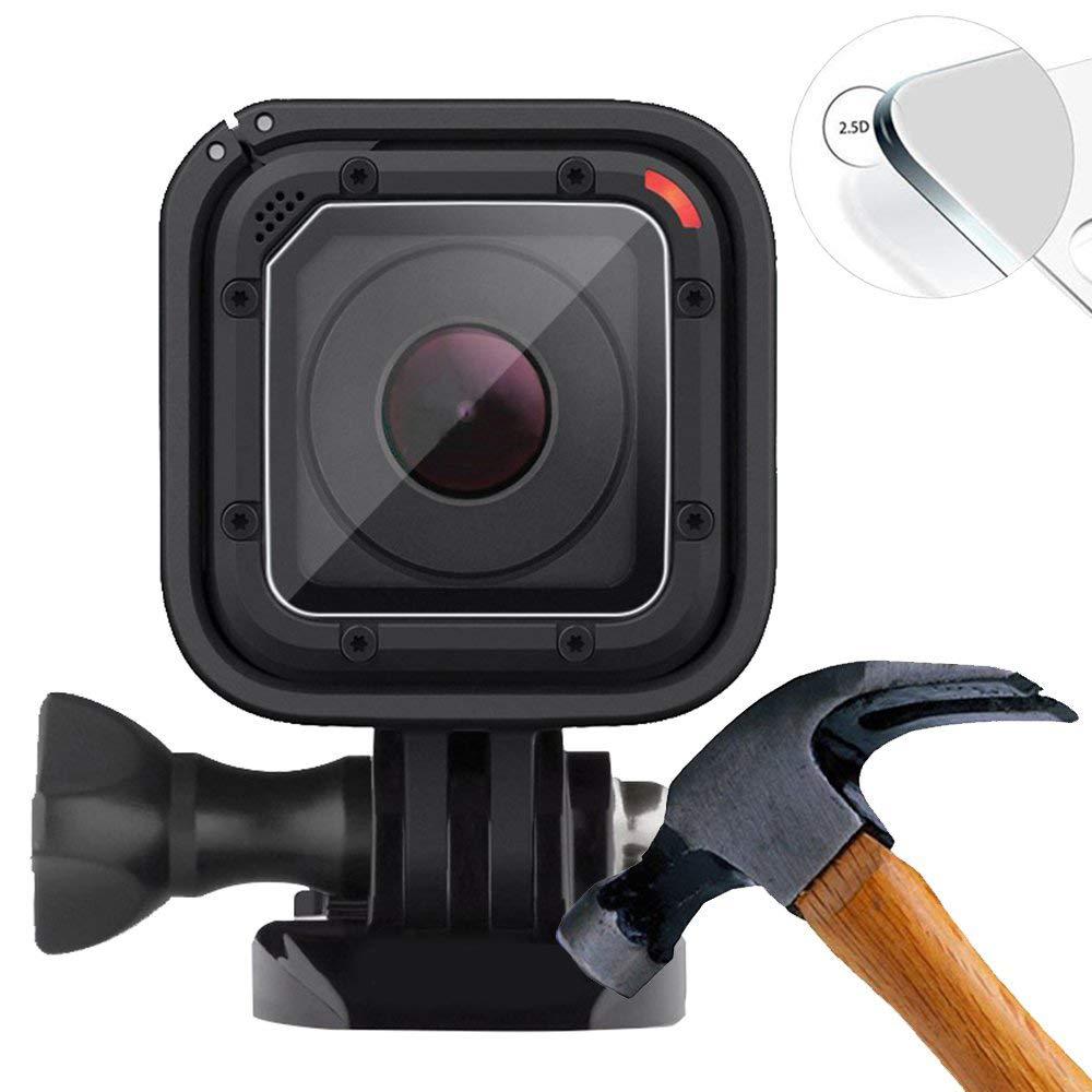 Color Negro y Claro GoPro AMLRK-001 Kit de Repuesto de Lente para GoPro Hero5 Session