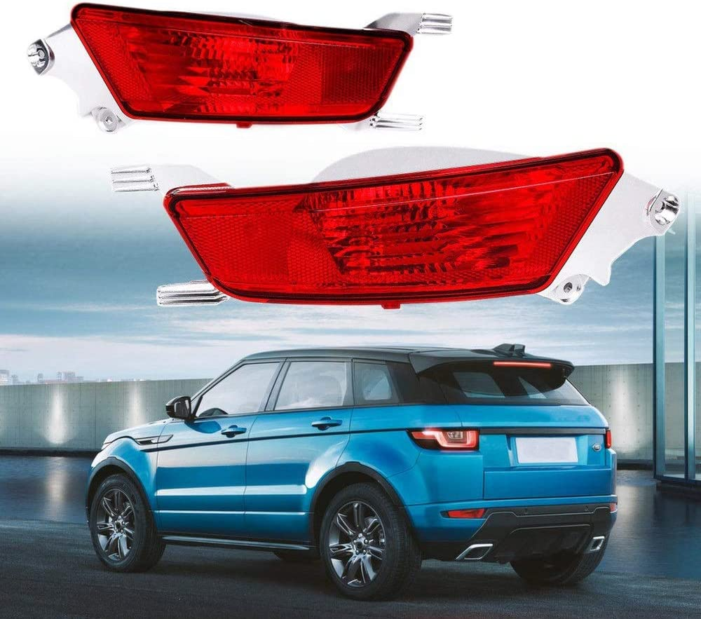 ZHANGAO Car LED Front Bumper Fog Lights White Lamp for Range Rover Evoque Dynamic 2011-2016 Decorative lights Color : Right