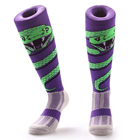 Samson Hosiery® Serpiente Wrap impresión Funky Novedad Moda Regalo Calcetines de fútbol RUGBY deportes y