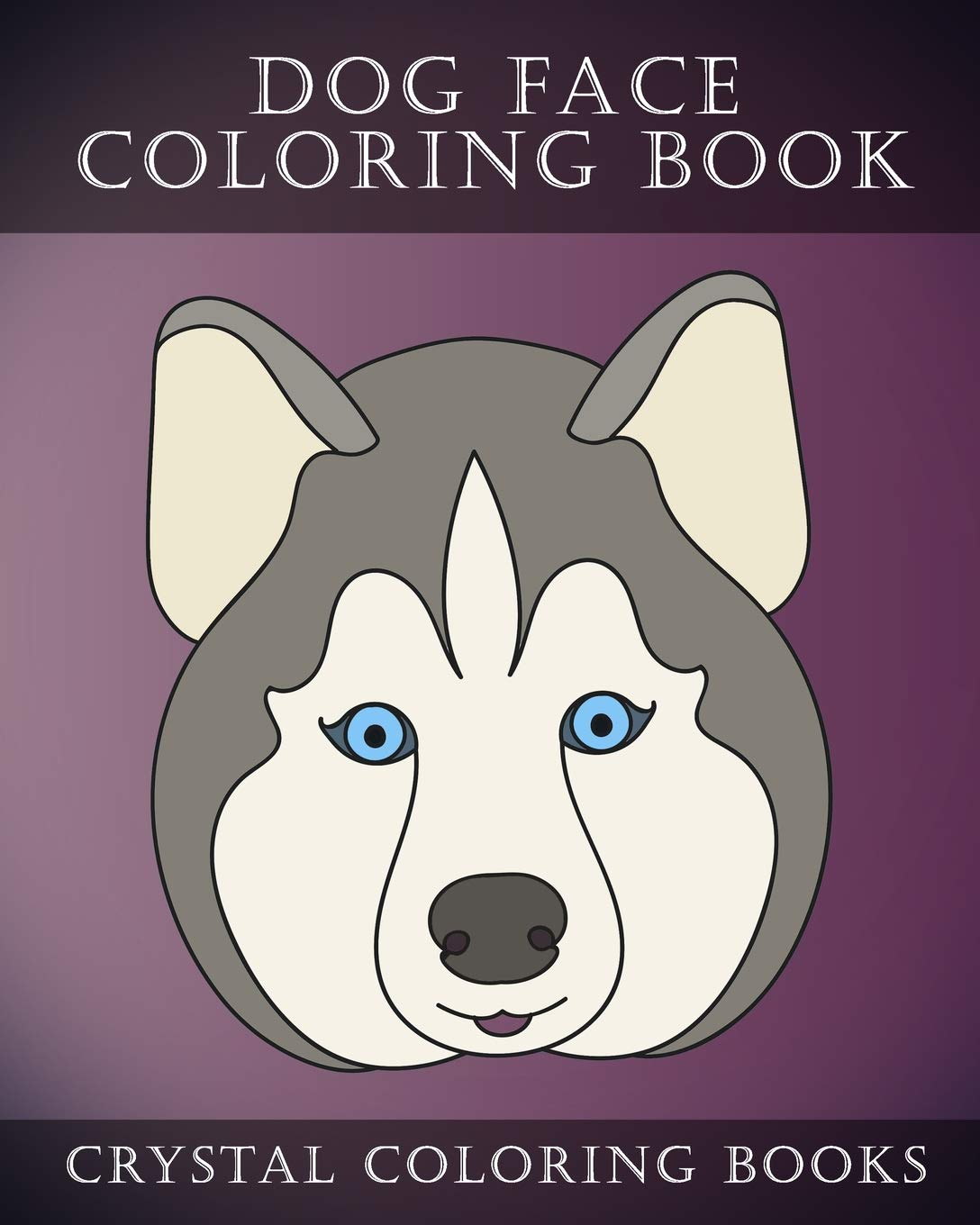 Amazon In Buy Dog Face Coloring Book 30 Simple Easy Line