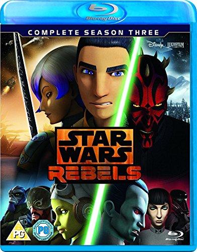 Star Wars Rebels Season 3 [Blu-ray]