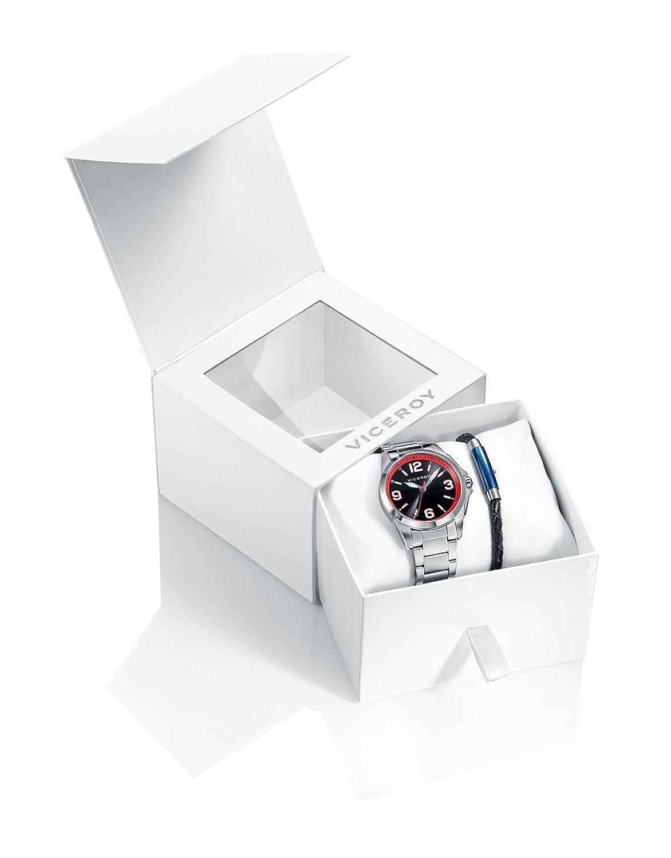 Analog Armband Viceroy 42267 Jungen 54 Quarz Mit Uhr Edelstahl kuTlXiwPZO