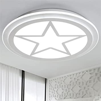 GBT Modernas lámparas de techo circulares ultra delgadas Led ...