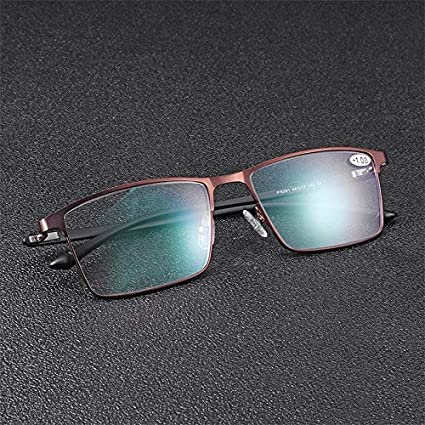 ef1c40bf7f0 Amazon.com  TR90 Prescription Reading Glasses Anti Blue Anti Fatigue With  Mixed Strength Lens - Eye Care Reading Glasses  Home Improvement
