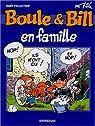Boule et Bill - Hors Série : Boule et Bill en famille par Roba