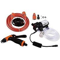 مضخة غسيل السيارات ، 12 فولت محمولة عالية الضغط ذاتية التنظيف