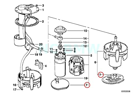 Keg Box Diagram