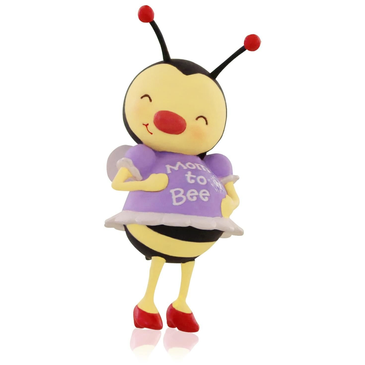 Amazon: Hallmark Qgo1127 Mom To Bee Pregnancy Ornament: Home & Kitchen
