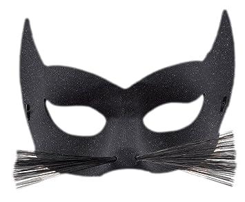 Erdbeerclown Erwachsenen Katze Karneval Faschingsmaske