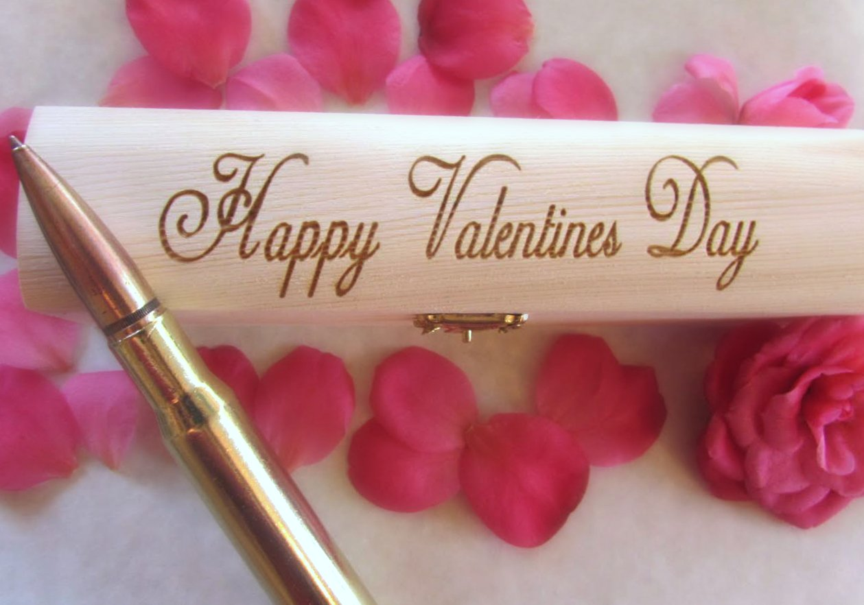 Anniversary Gifts For Men   50 Caliber Bullet Pen   Made In USA   Custom Engraved Personalized Box by Brass Honcho (Image #5)