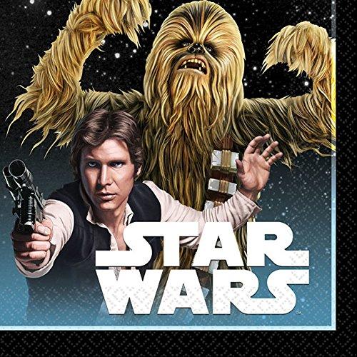 Star Wars Classic Beverage Napkins (16 (Star Wars Beverage Napkins)