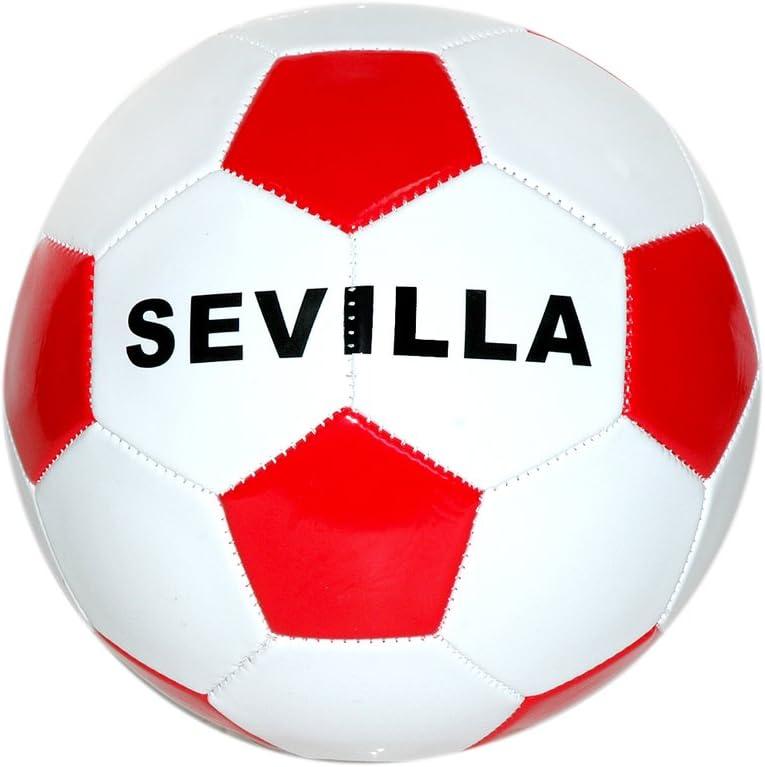 Toinsa - Balón de Fútbol Blanco y Rojo