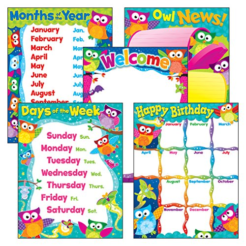 owl birthday chart for classroom - 3