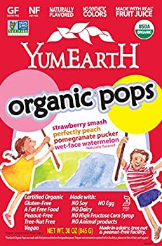 YumEarth Organic Fruit Lollipop 125-Ct. Container