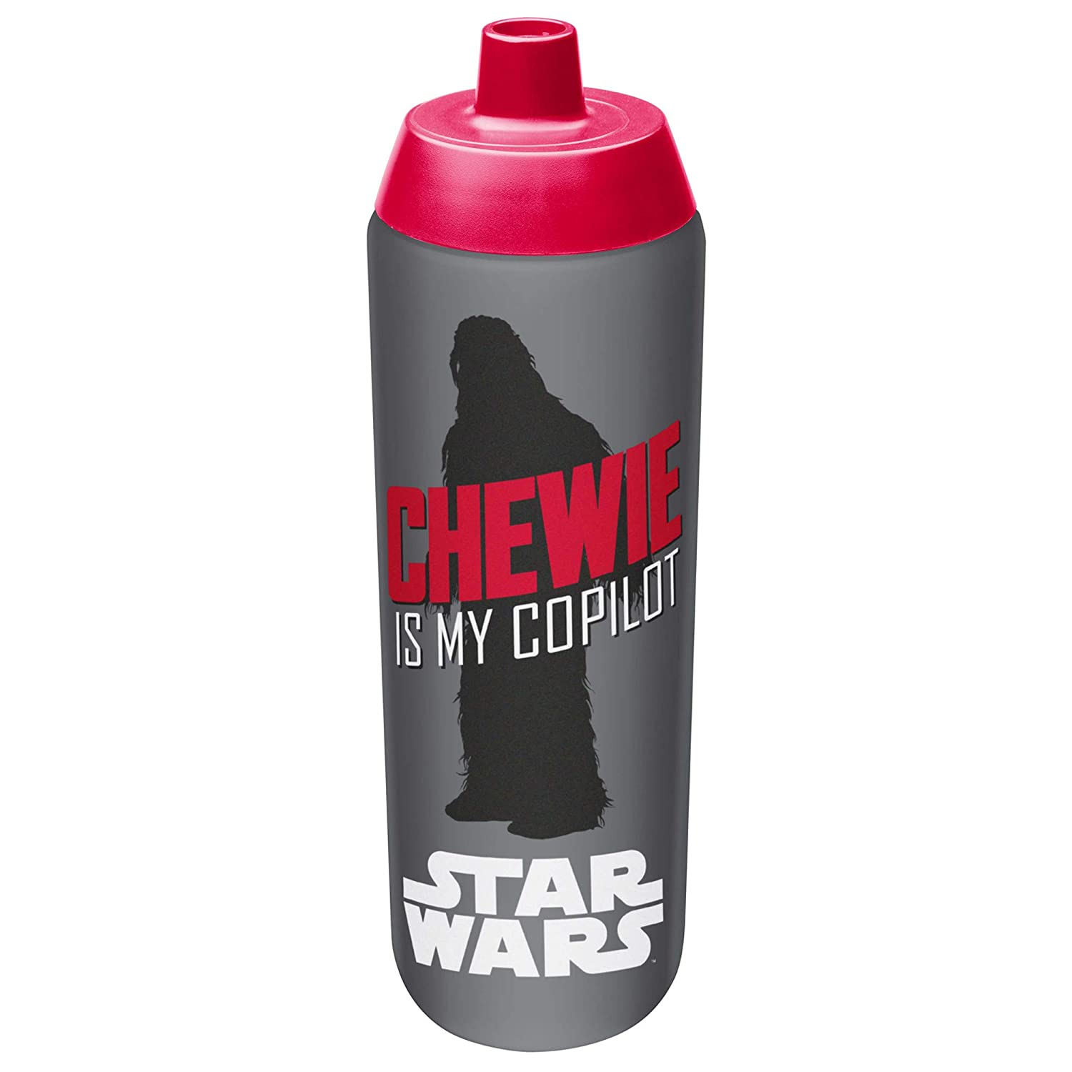 Zak! Designs Vacuum Insulated Growler with Convertible Screw-on Lid and Star Wars Graphics, Powder Coated Stainless Steel, Leak-proof Double Wall Construction for Hot & Cold Drinks,BPA-free, 64oz Zak Designs SWRG-R310