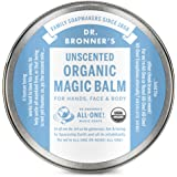 Dr. Bronner's - Organic Magic Balm (Baby Unscented, 2 Ounce) - Made with Organic Beeswax and Hemp Oil, Moisturizes and Soothe