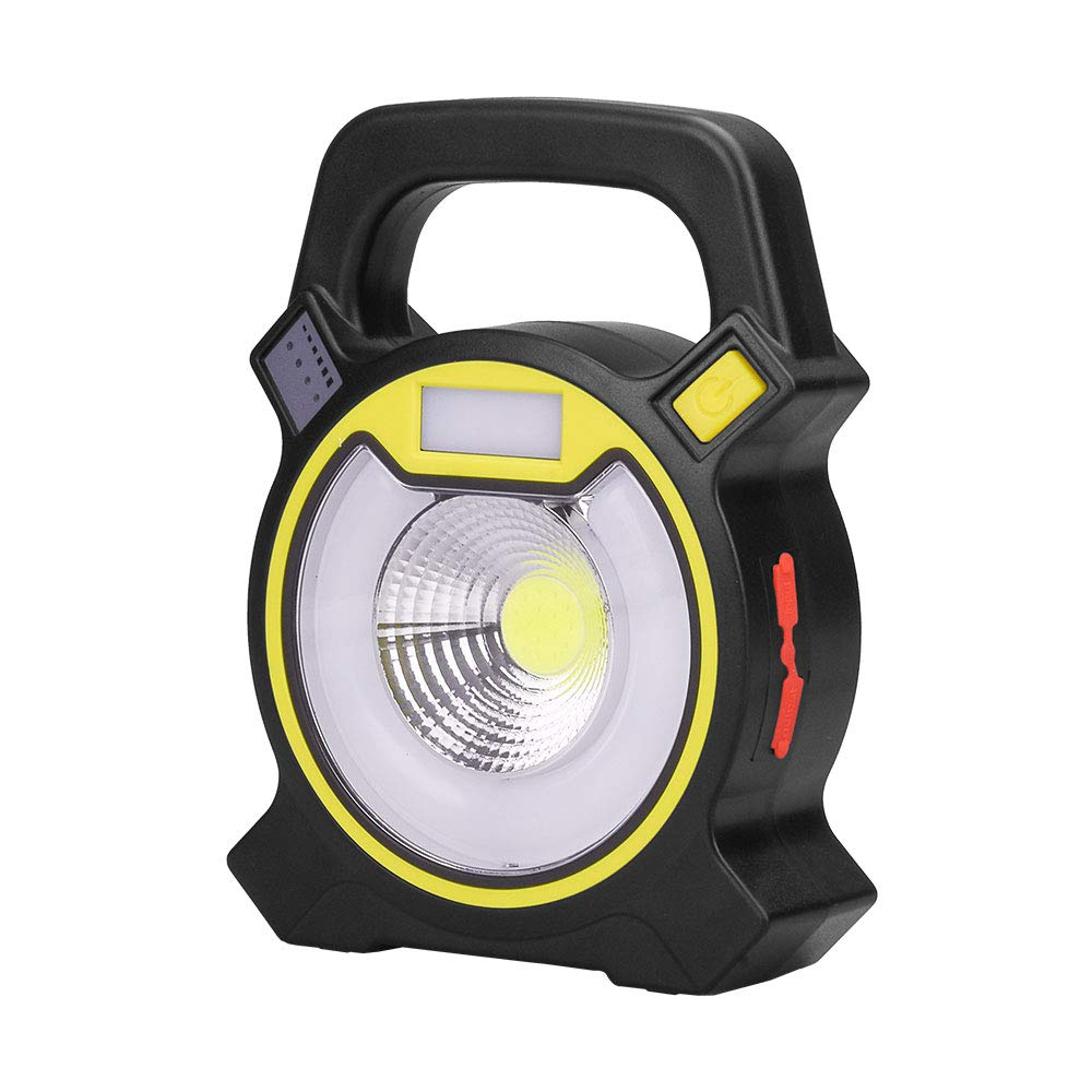 15W 24 LED Super Bright Rechargeable Work Lights with 3 Modes(High/Low/Strobe) 360 Degree Rotating Design to Meet Kinds of Lighting Needs and Emergency SOS Mode