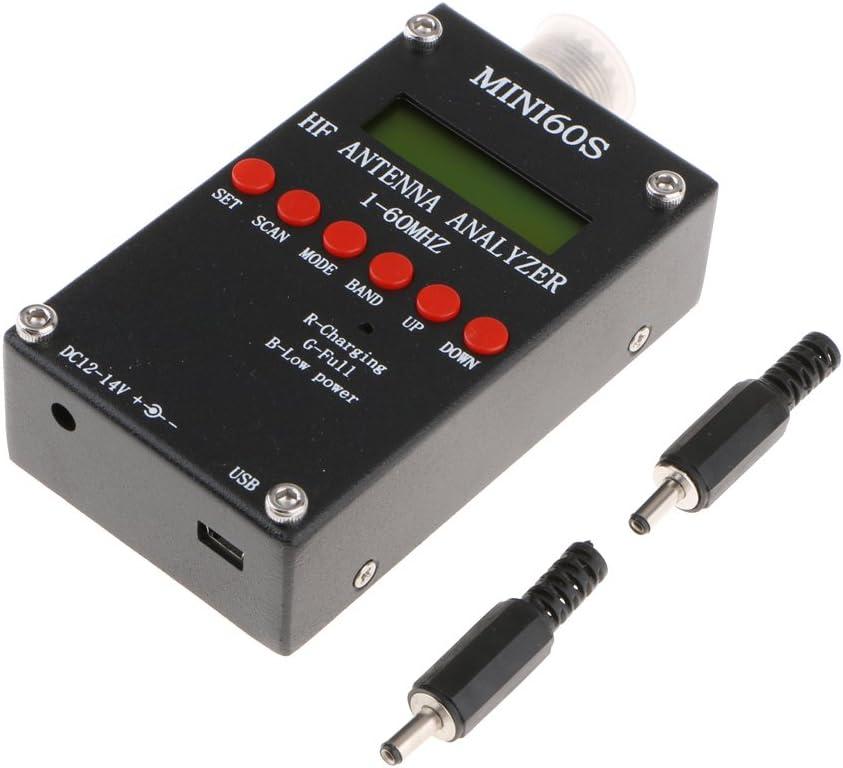 D dolity Antena Analizador Meter Tester 1 – 60 MHz USB de ...