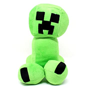 Spainbox Peluche Pixel de Creeper Color Verde - 30 cm 👾