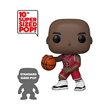 Funko- Pop Bulls-10 (Red Jersey) NBA Michael Jordan ...