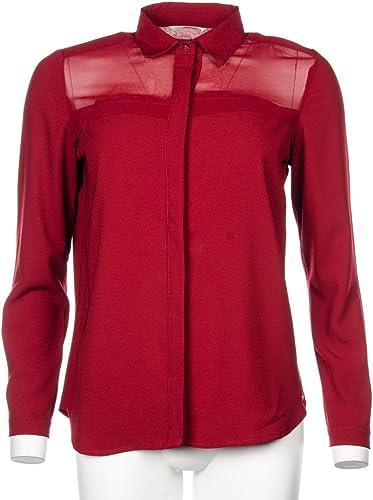 Tiffosi Camisa Mujer Color Vino Talla L: Amazon.es: Ropa y accesorios