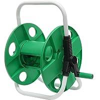 10-45M Portable Hose Reel Cart Water Pipe Storage Rotating Garden Water Hose Reel