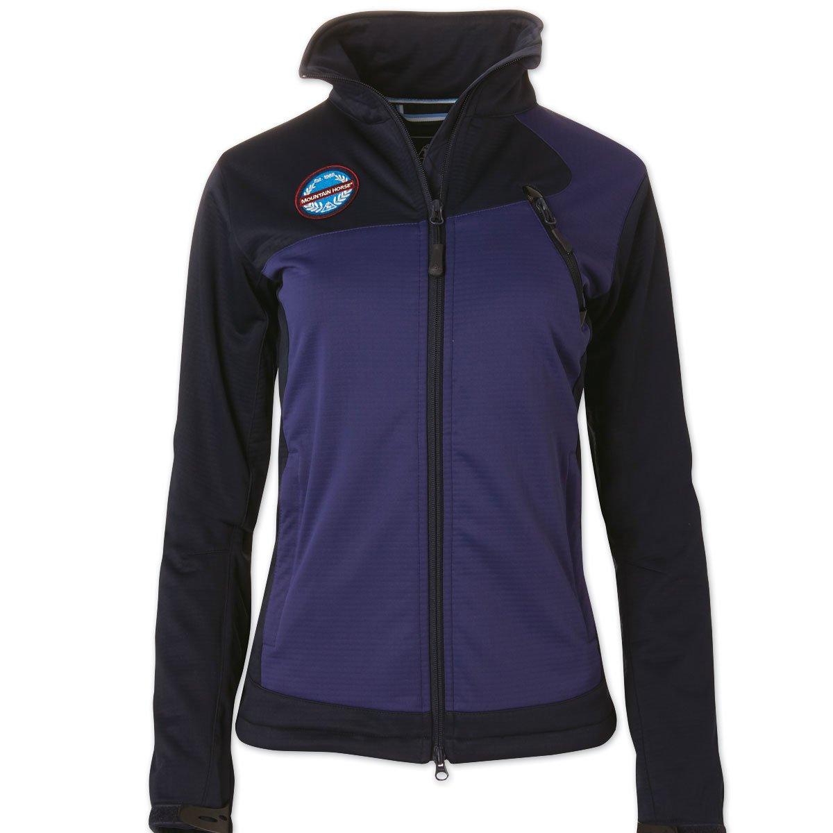 Mountain Horse Women's Cortina Softshell Jacket Midnight Medium US