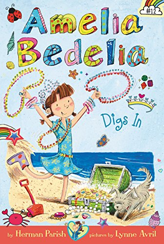 Buried Treasure Digs (Amelia Bedelia Chapter Book #12: Amelia Bedelia Digs In)