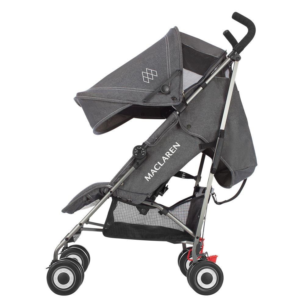 Amazon.com: Maclaren Quest Denim Carbón carriola: Baby