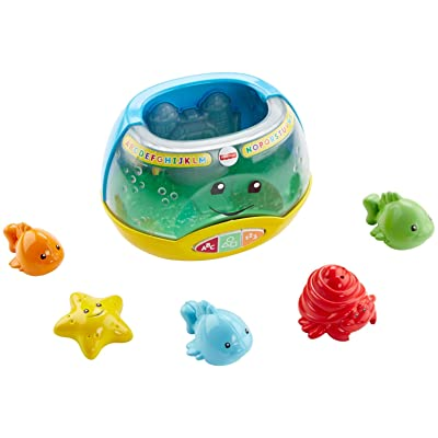 Fisher-Price Laugh & Learn Magical Lights Fishbowl: Toys & Games