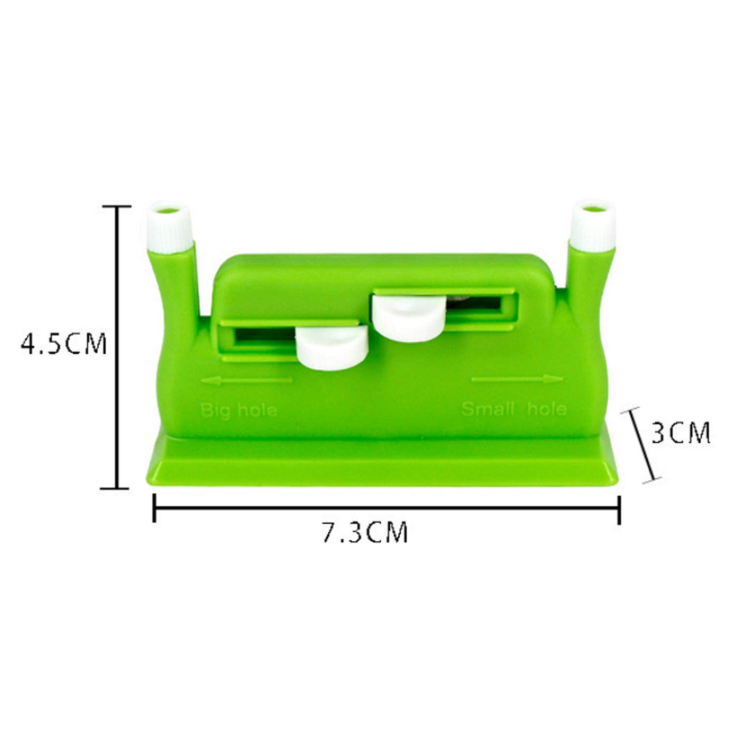 Migavan Useful Needle Threader Hand Machine Sewing Stitch Insertion Tool with 5 Needles for Sewing Accessories Supplies Green