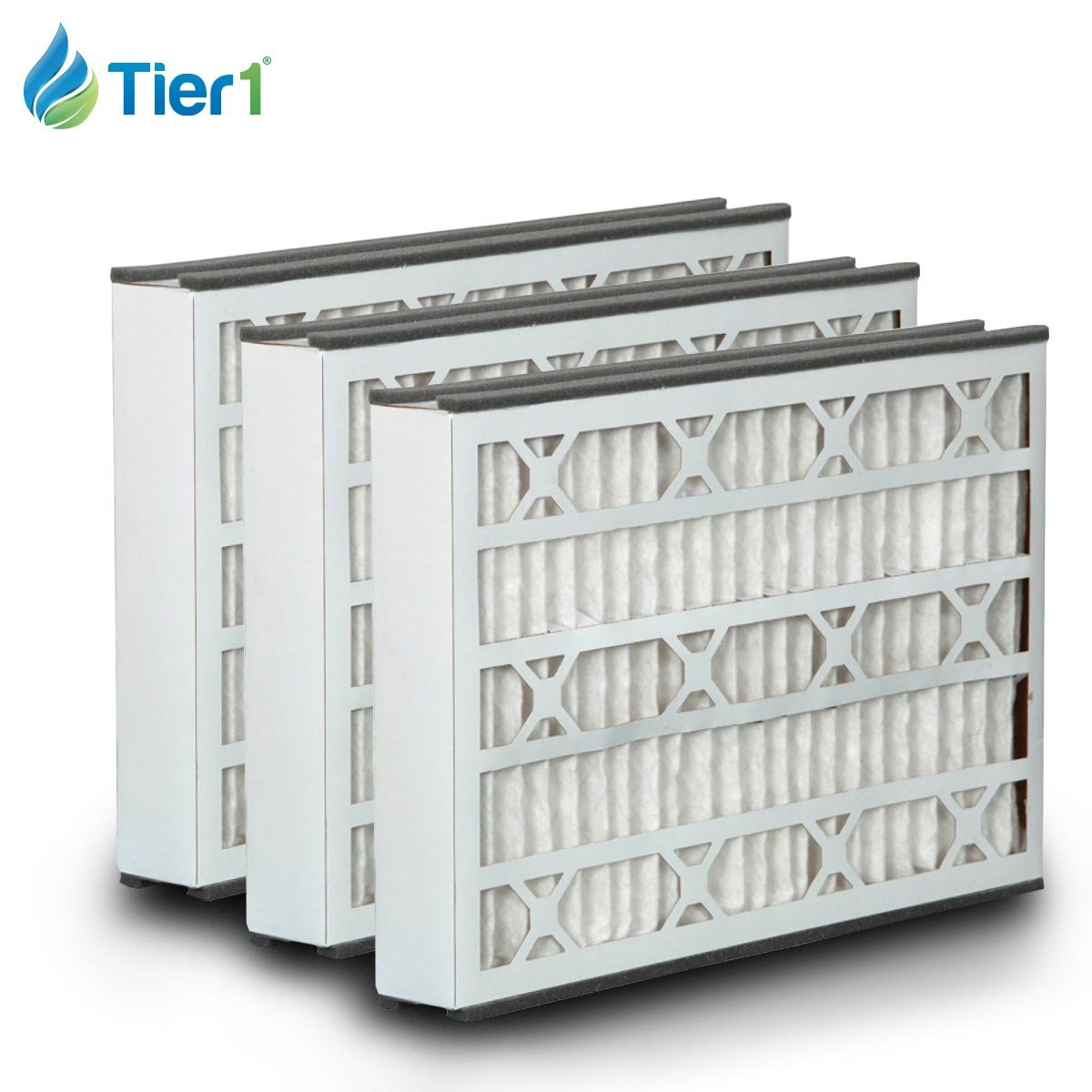 Tier1 Replacement for GeneralAire 16x25x3 Merv 8 14164 & 4521 Air Filter 3 Pack