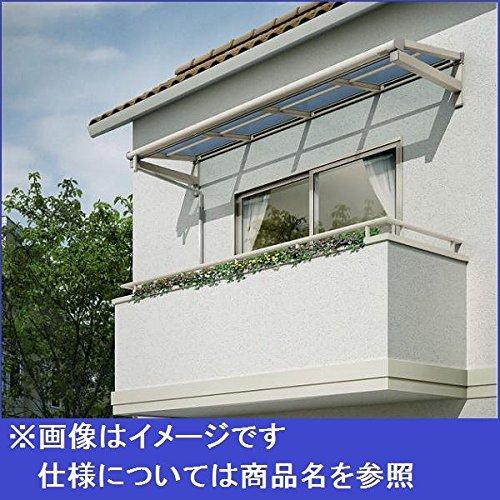 YKK ap 持ち出し屋根 ヴェクター 2間×4尺 フラット型 ポリカ屋根 関東間(張り出しなし) 600N/m2 12階設置用  プラチナステン B00DKXZRGG 本体カラー:プラチナステン 本体カラー:プラチナステン