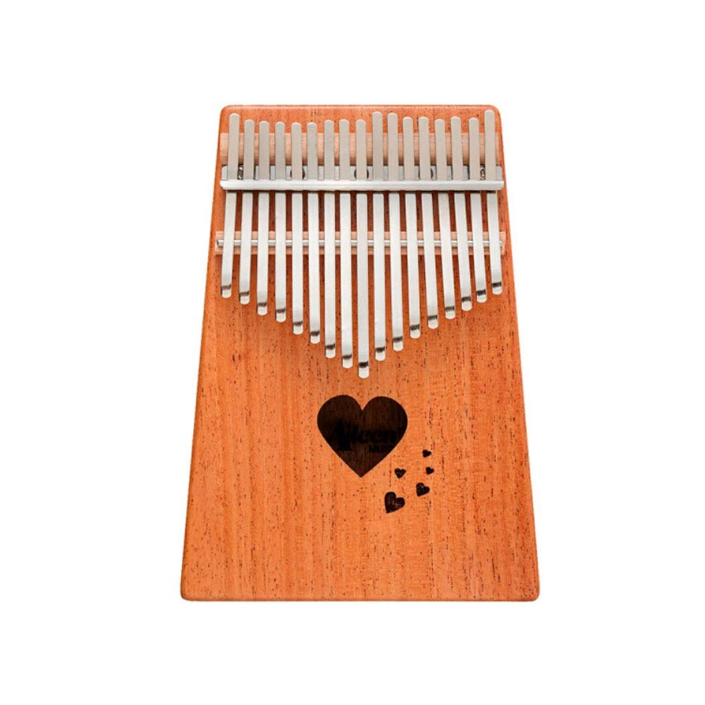 Youshangshipin Kalimba, Beginners To Learn To Play Professional Wooden Piano, 17-tone Portable Easy To Learn Girl Heart Style, (style 1, Gifts; Piano Bag, Piano Cloth, Finger Sleeves, Etc.)