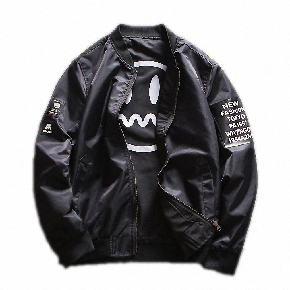 New Two Side Jacket Coat Men Top Design Casual Outwear Windbreaker Jacket Bomber supreme Male Jacket