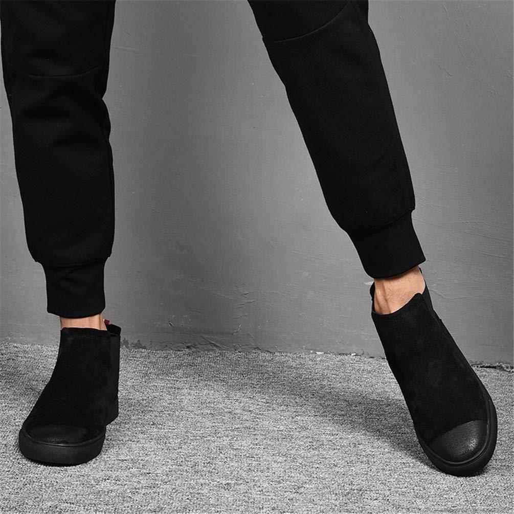Hombres Zapatos Casuales Casuales Casuales Altos Botas CláSicas Desgaste Resistente Hombre Zapatillas De Invierno Ligeros Zapatos De Lujo Caliente Hombre Slip En Botines c99beb