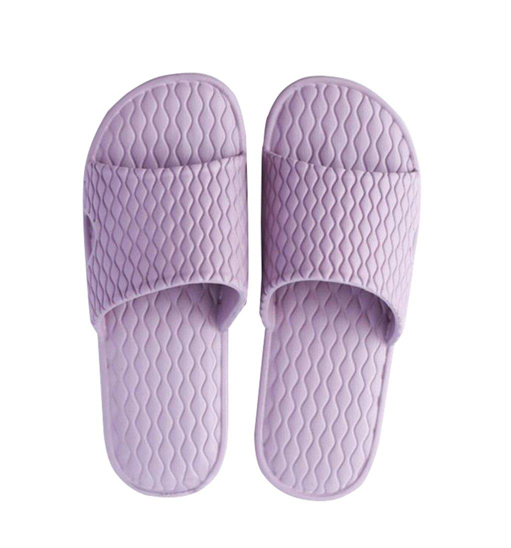 Xunlong Slip On Pantofole Uomini Uomini Uomini e Donne Doccia Antiscivolo Pantofole Pool, Scarpe da Spiaggia Unisex Sandali da Bagno viola c5e98c
