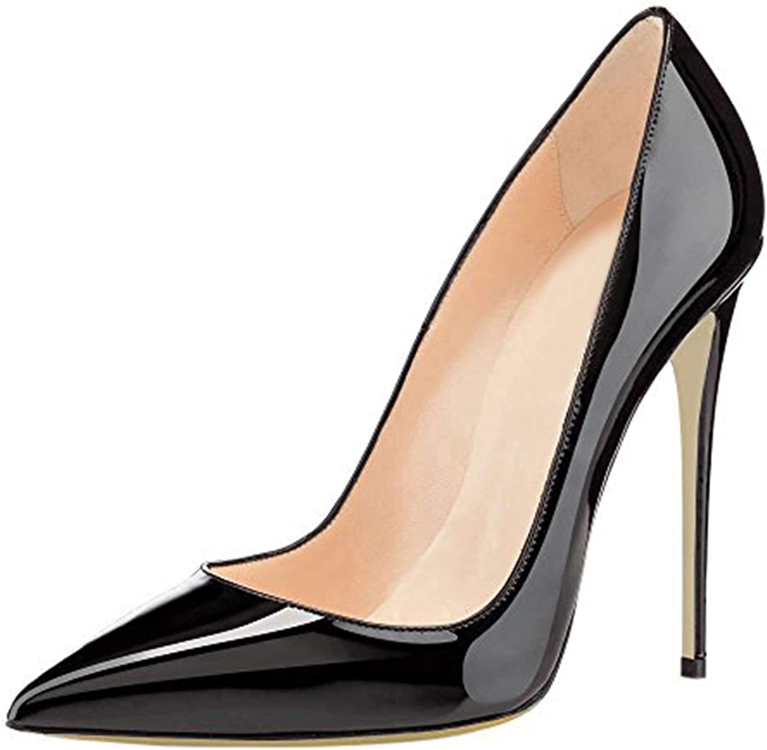 COLETER Women's Sexy Pointed Toe High